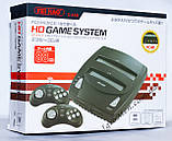 2 in 1 Sega Genesis + Dendy HD (HDMI, беспроводные джойстики, 88 игр), фото 10