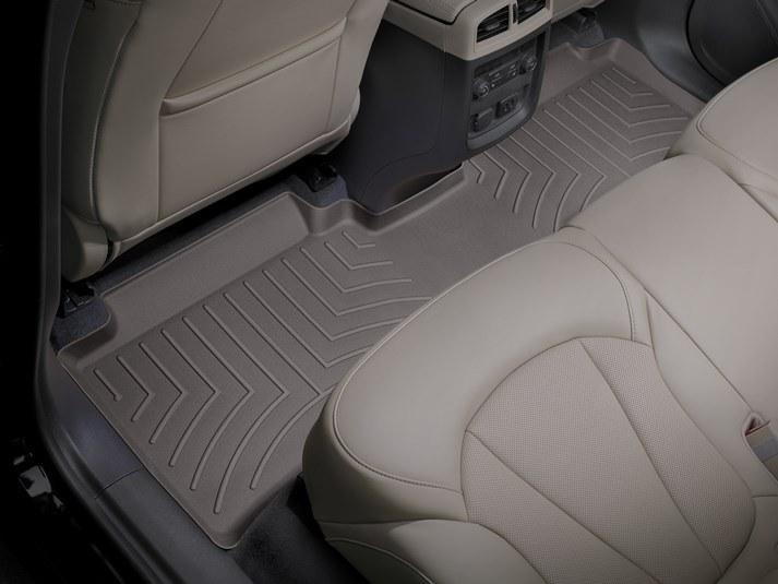 Килимок гумовий WeatherTech Buick Envision 2016+ задній какао