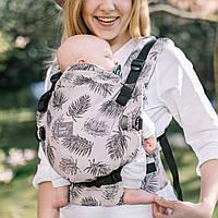 """Эрго рюкзак для новорожденных """"Тропик""""  ONE+ Organic  Love & Carry Многофункц Рюкзак для переноски детей Анато"""