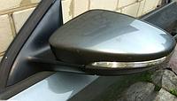 Зеркало боковое правое с поворотником VW Jetta 11-18 USA