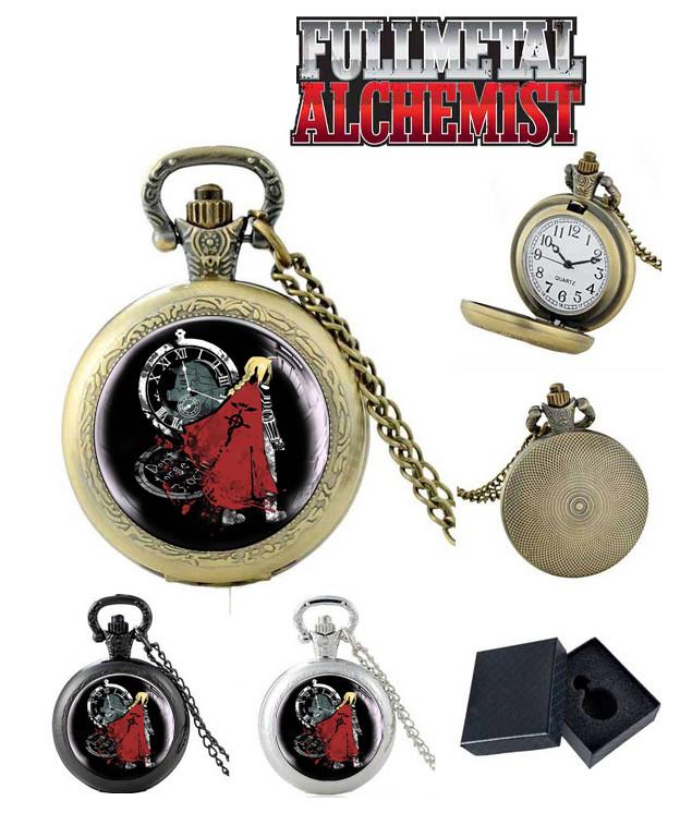 "Карманные часы Стальной Алхимик ""Частица души"" / Fullmetal Alchemist"