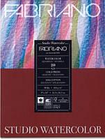 Альбом для акварелі Watercolour 30х40 см 200 г/м.кв. 20 аркушів склейка з 4 сторін Fabriano Італія
