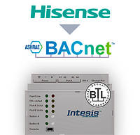 Шлюз Hisense VRF systems to BACnet IP/MSTP Interface - 16 units