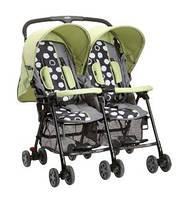 SD593 детская коляска-трость для двойни