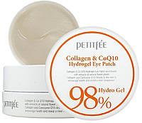 Гидрогелевые патчи для глаз Petitfee Collagen & Q10 Hydrogel Eye Patch