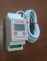 Терморегулятор цифровой ЦТРд2-2ч 10А  (двухпороговый на din-рейку)