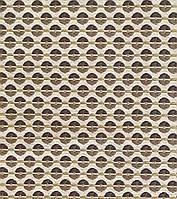 """Ткань коллекции NEW des.6009. Жаккардовая портьера в принт """"кофейные зерна"""". Ширина 140см. 55%vi+45%poly"""