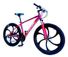 "Велосипед Unicorn - Flash 26"" размер рамы 18"" Black-Violet 2020год, фото 3"
