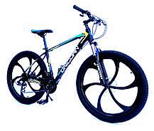 "Велосипед Unicorn - Flash 26"" размер рамы 18"" Black-Violet 2020год, фото 2"