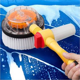 Вращающаяся щетка-насадка для шланга Water Blast Cleaner Roto Brush ORIGINAL