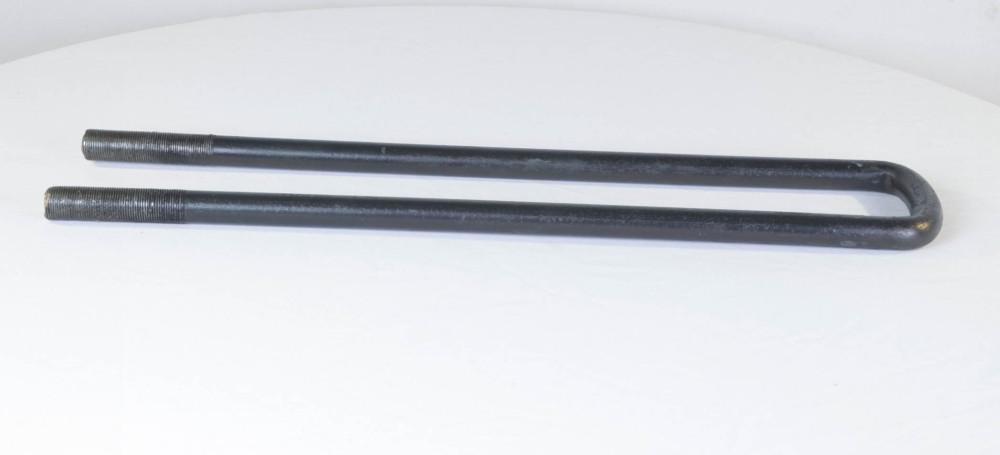 Стремянка рессоры задней ЗиЛ-130 М22х1,5 L=550 без гаек, удлин. (производство Самборский ДЭМЗ) (арт. 130-2912408-02), rqx1
