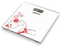 Напольные электронные бытовые весы delfa dc-1202