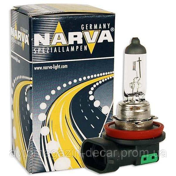 """Лампа 12V_H11  55W  Standart """"Narva"""" (1шт)  (48078) (10шт/уп)"""