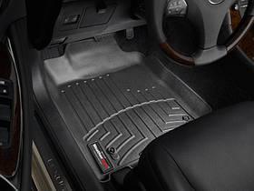 Ковры резиновые WeatherTech  Lexus ES 2006-2012 передние черные