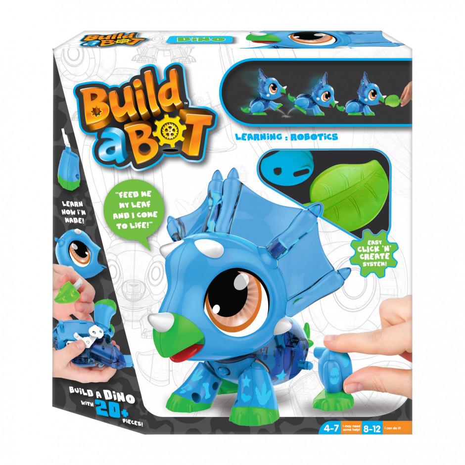 """Интерактивная игрушка-конструктор """"Динозавр"""" - Build a Bot Dino"""