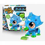 """Интерактивная игрушка-конструктор """"Динозавр"""" - Build a Bot Dino, фото 2"""