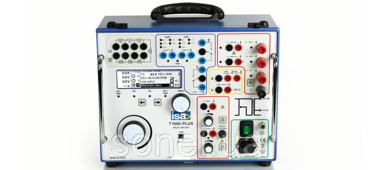 Випробувальний Прилад для перевірки параметрів релейного захисту Т 1000 PLUS