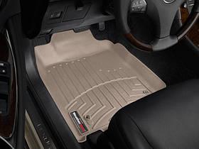 Ковры резиновые WeatherTech  Lexus ES 2006-2012 передние бежевые