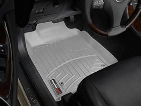 Ковры резиновые WeatherTech  Lexus ES 2006-2012 передние серые