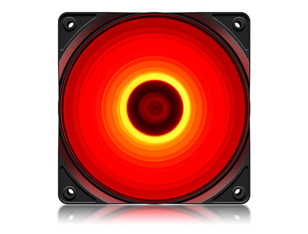 Вентилятор (кулер) для корпуса Deepcool RF 120 Red