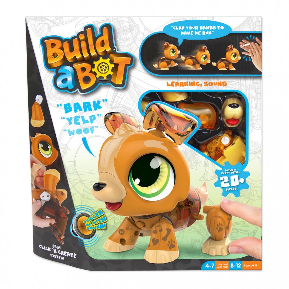 "Інтерактивна іграшка-конструктор ""Щеня"" - Build a Bot Puppy"