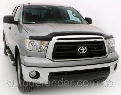 Дефлектор капота (Люкс!) мухобойка Toyota Tundra 2007-2014, SIM, STOTUN1012