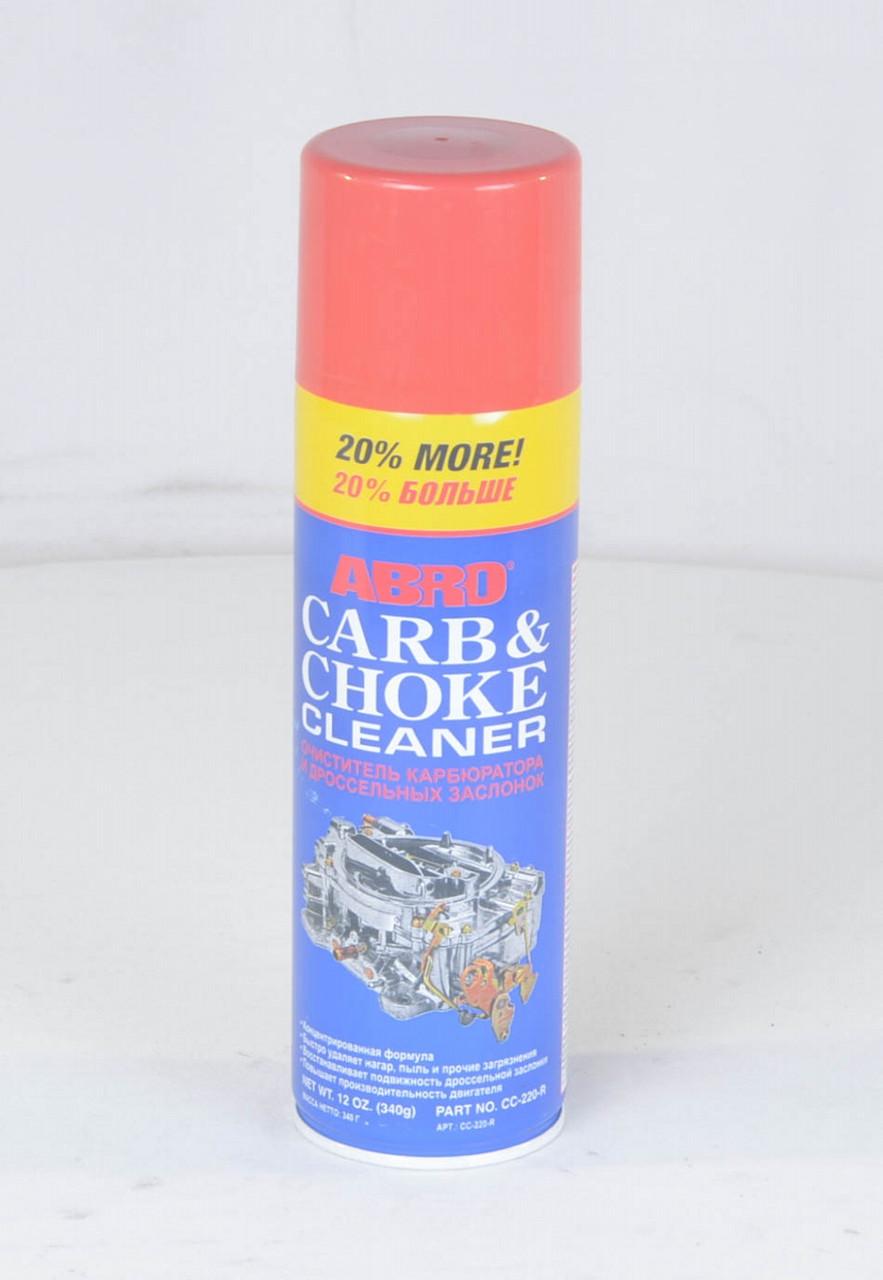 Очиститель карбюратора +20 340гр ABRO (арт. CC-220 R), rqz1