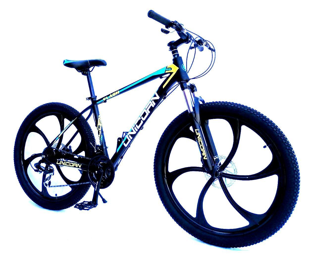"Велосипед Unicorn - Flash 26"" размер рамы 18"" Black-blue"