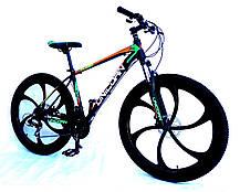 "Велосипед Unicorn - Flash 26"" размер рамы 18"" Black-blue, фото 3"