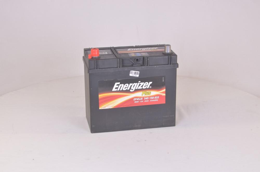 Аккумулятор   45Ah-12v Energizer Plus (238х129х227), L,EN330 Азия (арт. 545158033)