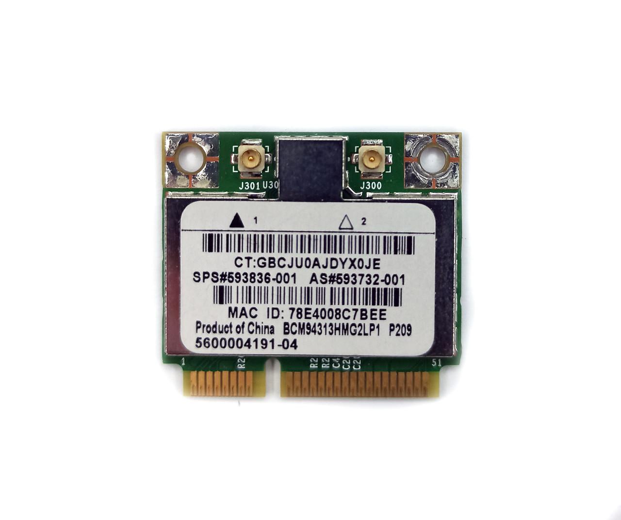 Wi-Fi модуль (593836-001) для ноутбука HP G62-a12SO