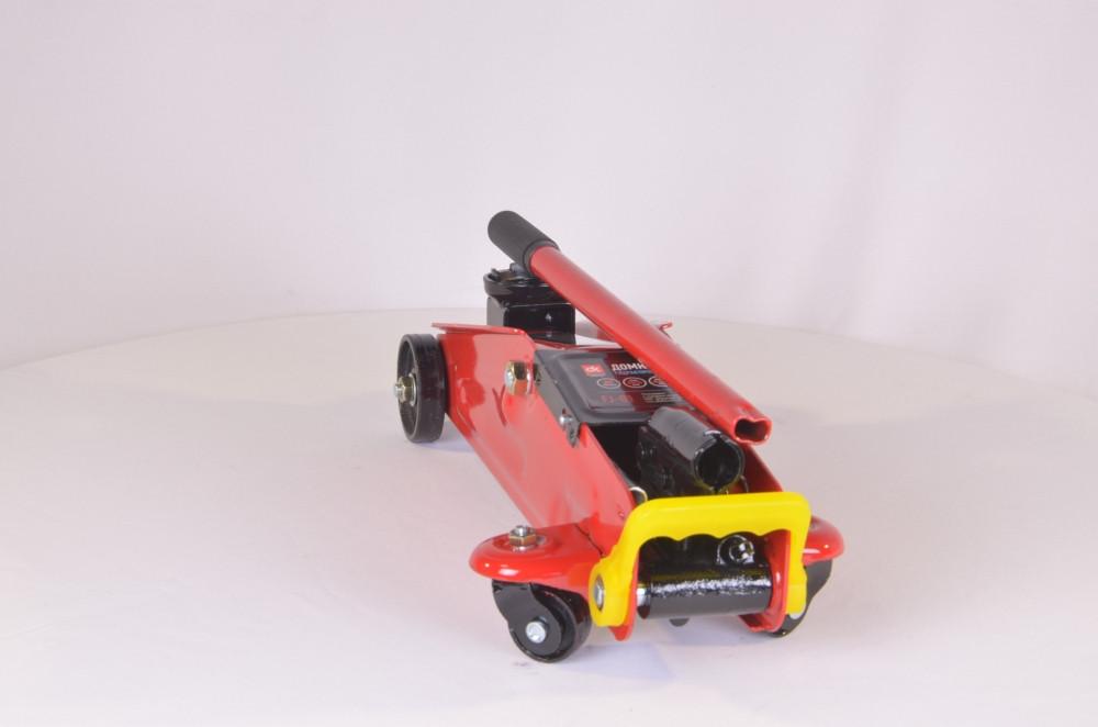 Домкрат підкатний, 2т пластик, H=125/310 6,5 кг (арт. FJ-01PVC), rqv1qttr