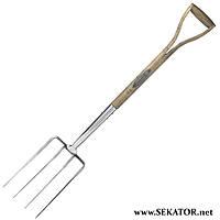 Вила з нержавіючої сталі з дерев'яною ручкою Spear & Jackson 4550DF (Велика Британія)