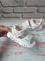 Детские босоножки на девочку с подсветкой, фото 1