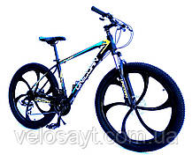 "Велосипед Unicorn - Flash 26"" размер рамы 18"" Black-white, фото 2"