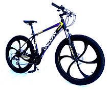 "Велосипед Unicorn - Flash 26"" размер рамы 18"" Black-white, фото 3"