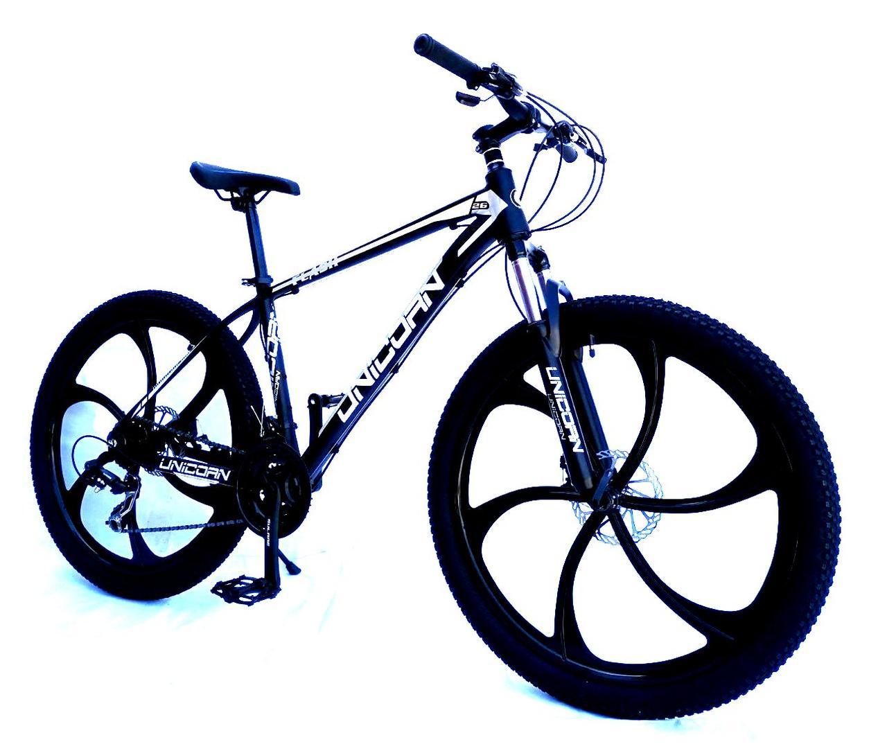 "Велосипед Unicorn - Flash 26"" размер рамы 18"" Black-white"