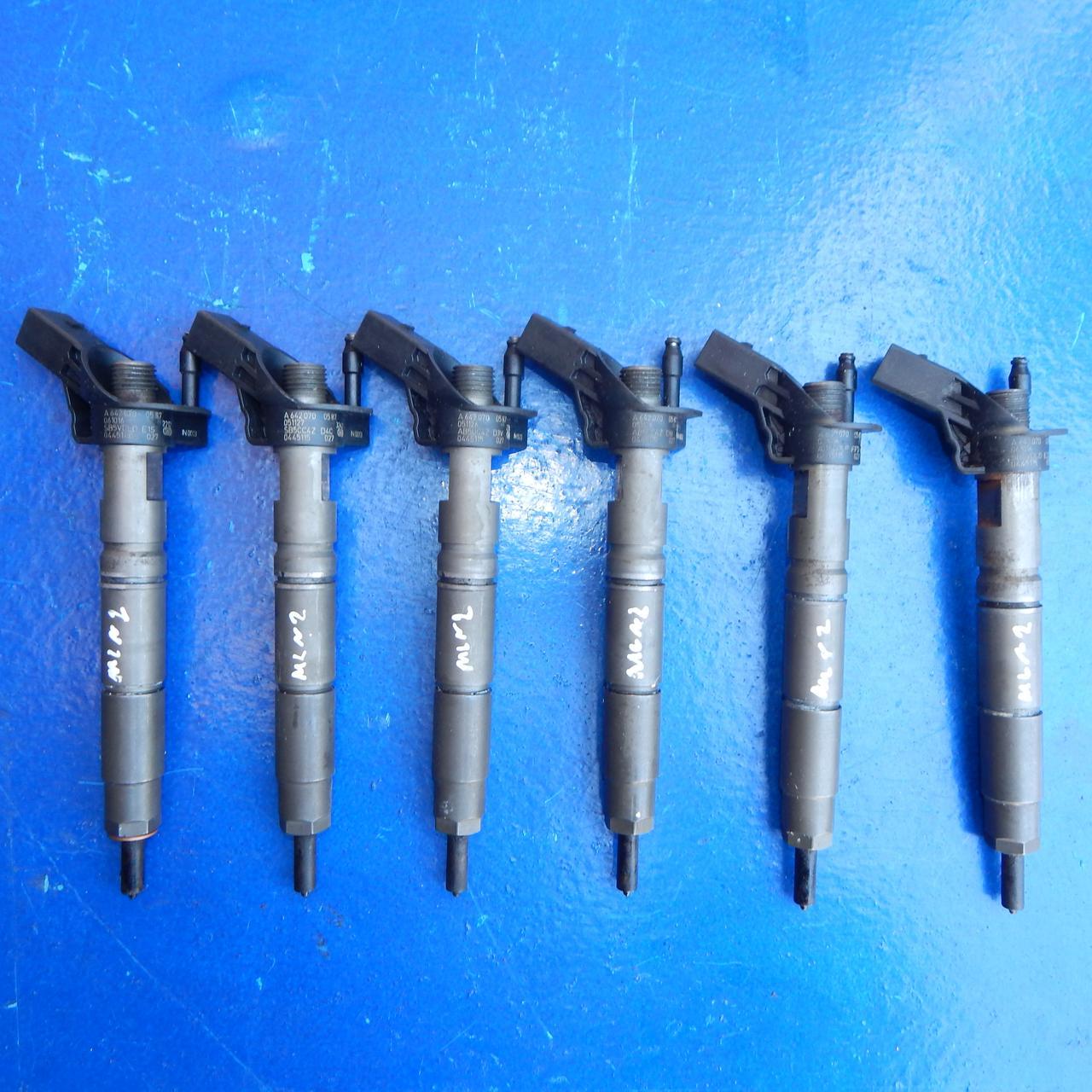 Форсунка форсунки 3.0 cdi OM 642 Mercedes-Benz ML-Class МЛ W 164 A6420700587