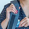 "Рюкзак для ноутбука протикрадій XD Design Bobby Compact 14"" (P705.655) Камуфляж Синій, фото 5"