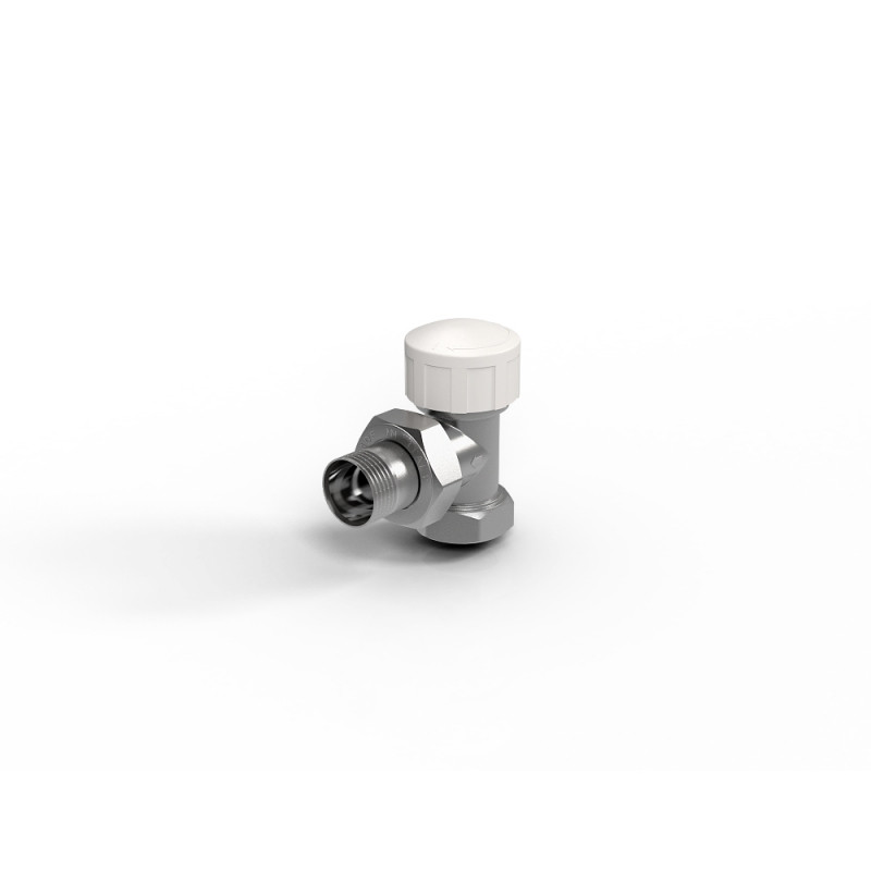 """Вентиль термостатический угловой для радиатора 1/2"""" Royal Thermo"""