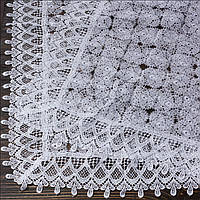 Венчальный платок белый 80х80 см, арт. PV-1008