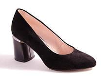 Туфли женские черные Favor 1300