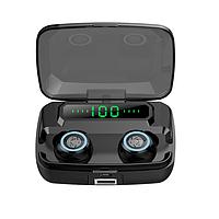 Беспроводные наушники M11 TWS bluetooth V5.0 Hi-Fi Stereo Защита IPX7 Кейс - Powerbank Пыле и Влагозащита