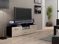 ТВ тумба EVORA MINI 147 чорний/кремовий (CAMA)