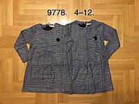 Туники-платья на девочек оптом, F&D, 4-12 рр