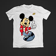 Футболка с принтом женская Mickey