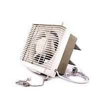 Осевой реверсивный оконный (форточный) вентилятор Турбовент ASB 15-3-J, фото 1