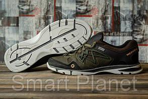 Кроссовки мужские 16581, Merrell Waterproof, зеленые, < 42 45 > р. 42-28,0см.