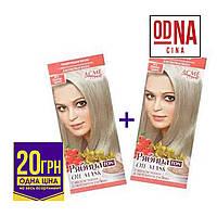 Тонуюча маска Acme Рябіна Ton oil mask №012 Світло-русий 1+1=2шт/набір