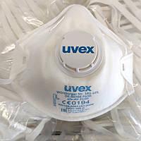 Респиратор от токсичной пыли с клапаном Uvex, FFP1